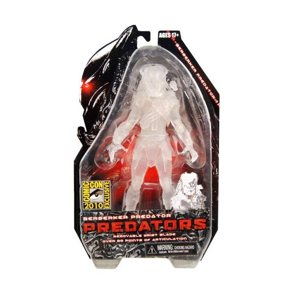 プレデター アクション フィギュア 人形 ネカ Predators Cloaked Berserker Predator 7' Action figure SDCC Exclusive