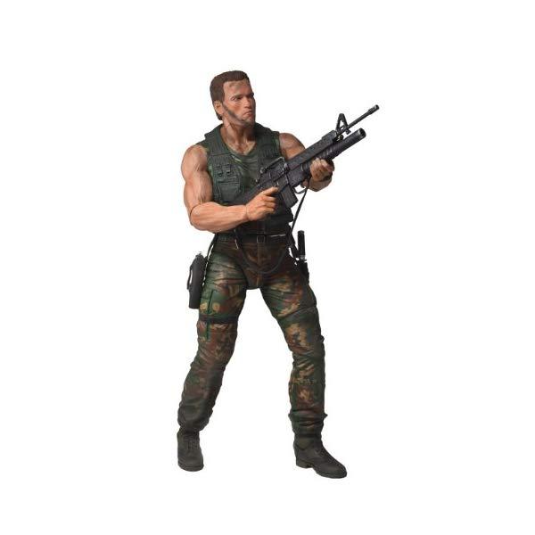 プレデター アーノルド シュワルツェネッガー アクション フィギュア 人形 ネカ NECA Predators Dutch Arnold Schwarzenegger Action Figure, 1/4 Scale