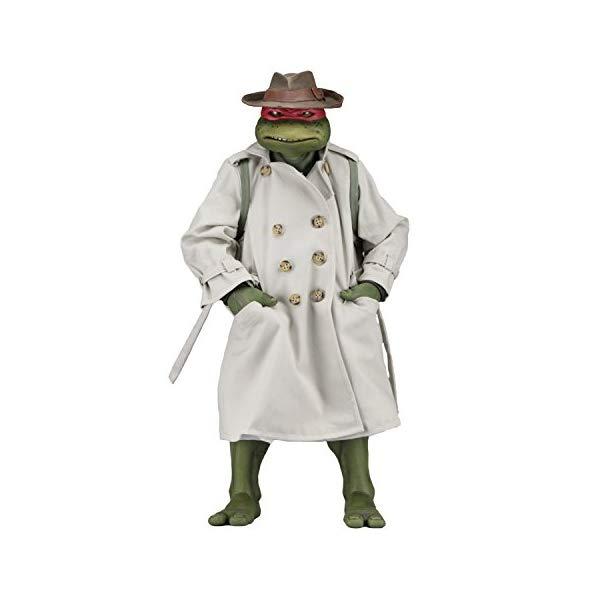 ミュータント タートルズ アクション フィギュア 人形 ネカ NECA Tmnt (1990 Movie) Raphael Disguise 1/4 Scale Action Figure