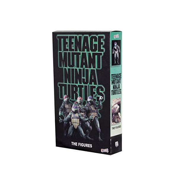 ミュータント タートルズ アクション フィギュア 人形 ネカ NECA SDCC 2018 Exclusive Teenage Mutant Teenage Turtles TMNT Movie Figure Set
