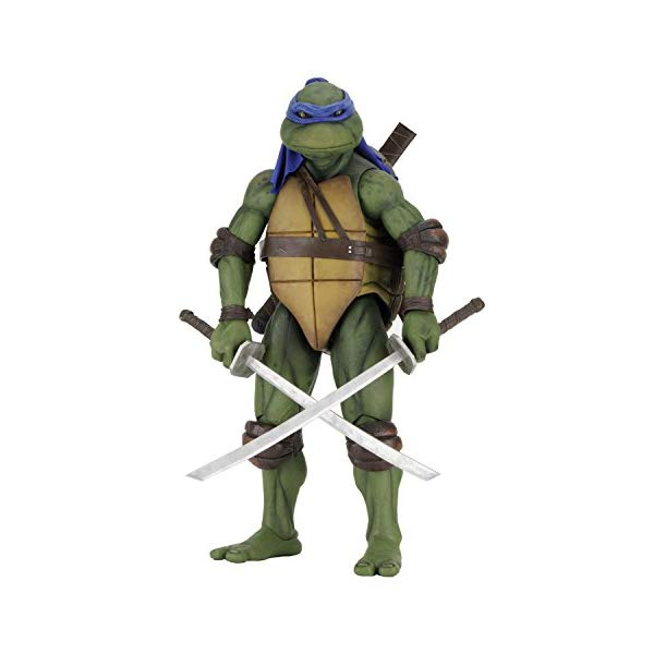 ミュータント タートルズ アクション フィギュア 人形 ネカ NECA Teenage Mutant Ninja Turtles Leonardo 1/4 Scale Action Figure