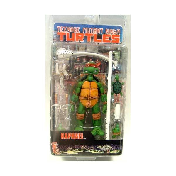 ミュータント タートルズ アクション フィギュア 人形 ネカ Teenage Mutant Ninja Turtles NECA Comic Style Action Figure Raphael