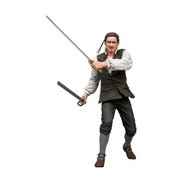 パイレーツオブカリビアン アクション フィギュア 人形 ネカ NECA Pirates of the Caribbean Curse of the Black Pearl Series 2 Action Figure Will Turner by NECA