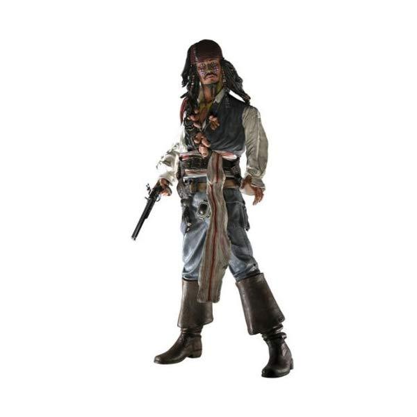パイレーツオブカリビアン アクション フィギュア 人形 ネカ Pirates of the Caribbean: Dead Man's Chest Series 1 Comic-Con Exclusive Cannibal Jack Sparrow Action Figure