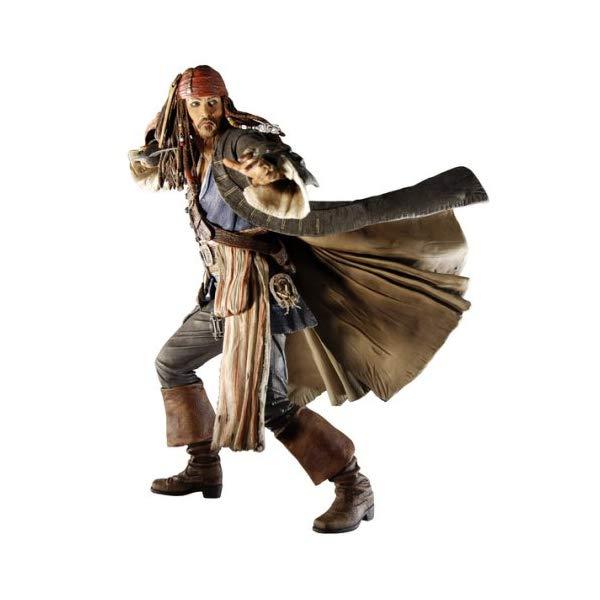 パイレーツオブカリビアン アクション フィギュア 人形 ネカ Pirates of the Caribbean: At World's End Jack Sparrow Action Figure [Toy]
