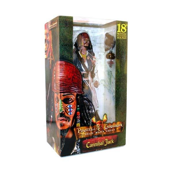 パイレーツオブカリビアン Cannibal アクション フィギュア 人形 ネカ Pirates Sparrow ネカ of the Caribbean Cannibal Jack Sparrow with Sound by NECA, 表札のサインデポ:0ed2cec7 --- sunward.msk.ru