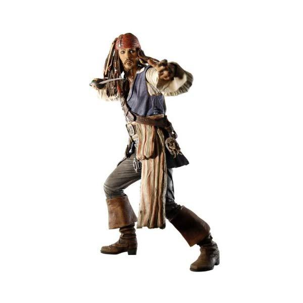パイレーツオブカリビアン アクション フィギュア 人形 ネカ Pirates of the Caribbean: At World's End Series 2 Capt. Jack Sparrow Action Figure