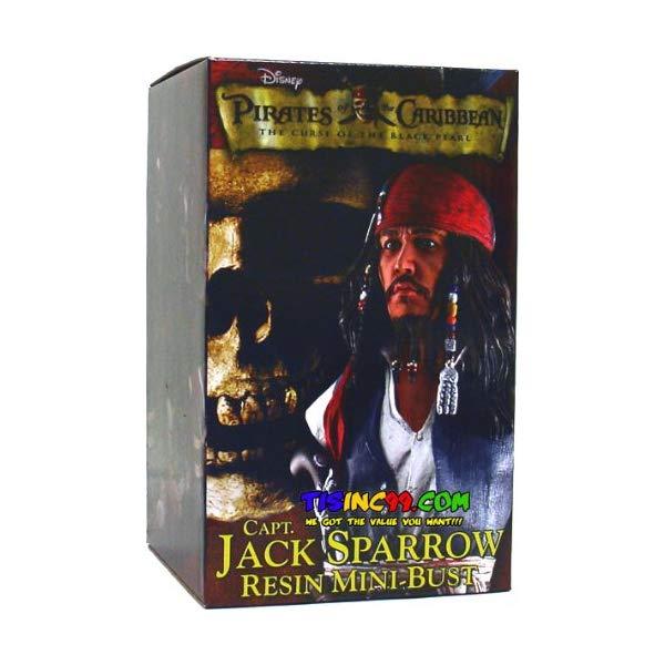 パイレーツオブカリビアン アクション フィギュア 人形 ネカ NECA Pirates of the Caribbean 6.5 Inch Mini Bust Jack Sparrow