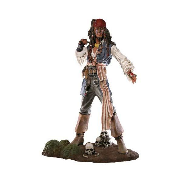 パイレーツオブカリビアン アクション フィギュア 人形 ネカ Pirates of the Caribbean Cannibal Jack Sparrow 18