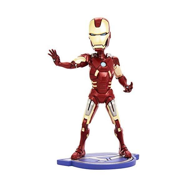 アイアンマン アヴェンジャーズ アクション フィギュア 人形 ネカ NECA Avengers Movie Ironman Headknocker