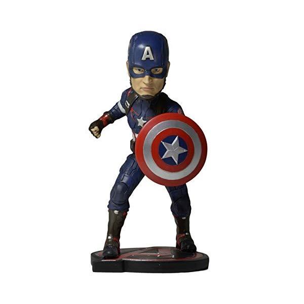 キャプテンアメリカ アヴェンジャーズ アクション フィギュア 人形 ネカ NECA Avengers Age of Ultron (Movie) - Head Knocker - Captain America