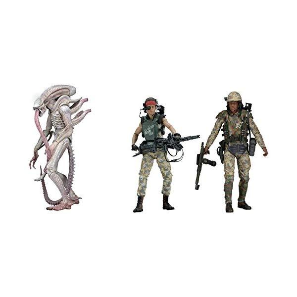 エイリアン アクション フィギュア 人形 ネカ NECA Aliens 7