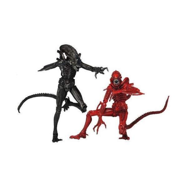 エイリアン アクション フィギュア 人形 ネカ NECA 7-inch Aliens Figure Genocide (Pack Of 2) by NECA