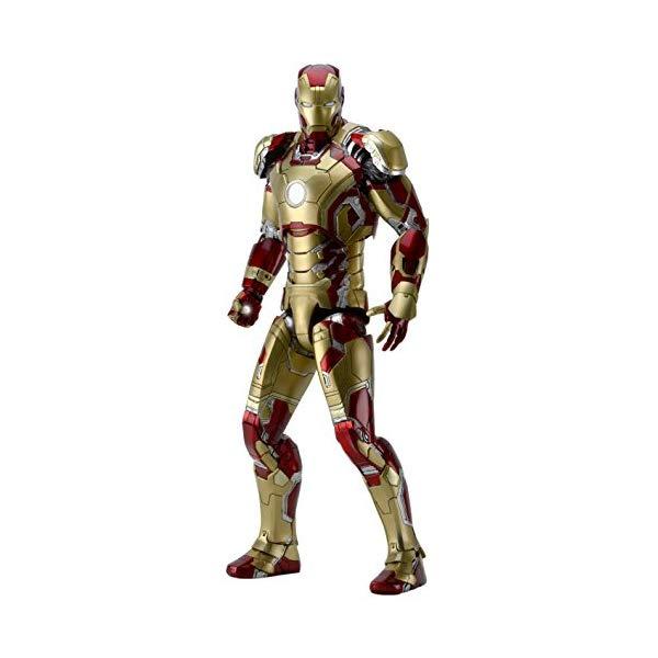 アイアンマン アクション フィギュア 人形 ネカ NECA Iron Man 3 1/4 Scale Iron Man (Mark 42) Action Figure