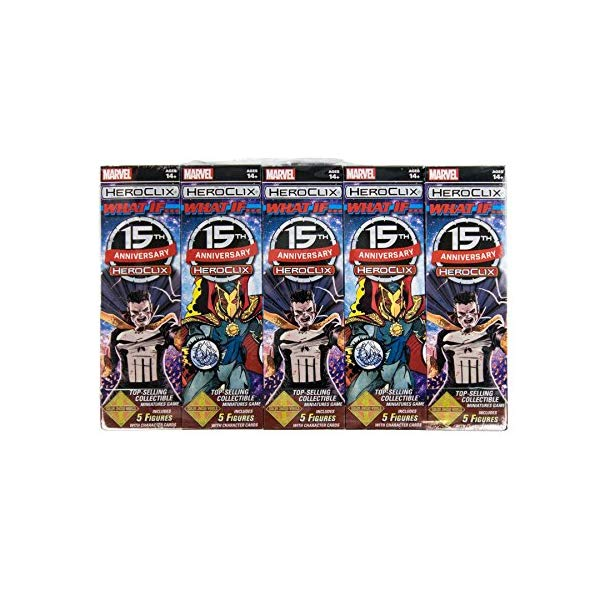 マーベル ヒーロークリックス セット フィギュア 人形 NECA HeroClix: Marvel: 15th Anniversary What If? Booster Brick