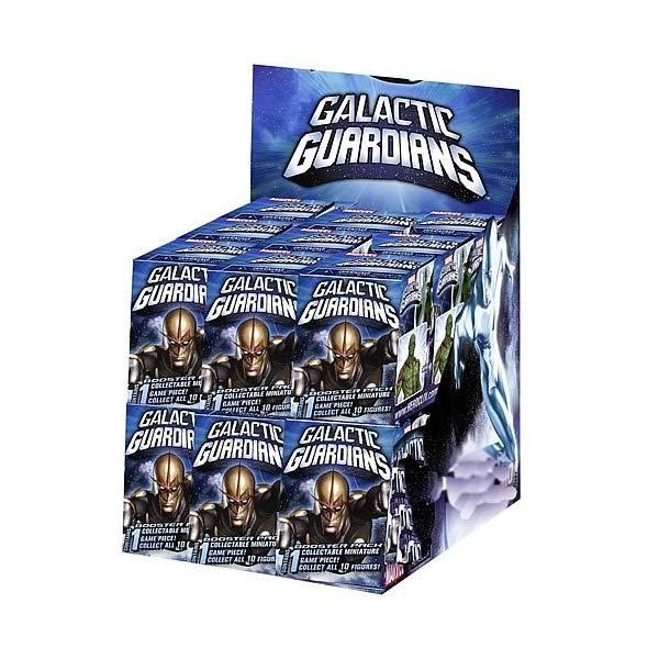 マーベル ヒーロークリックス フィギュア 人形 Marvel Galactic Guardians HeroClix Countertop Display Box