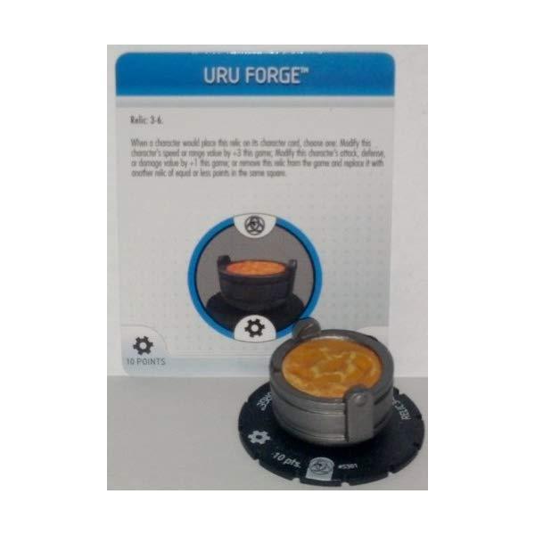 マーベル ヒーロークリックス フィギュア 人形 Marvel Heroclix Fear Itself #S301 Uru Forge Object with Card