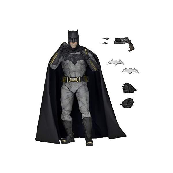 バットマン スーパーマン アクション フィギュア 人形 ネカ NECA Batman v Superman: Dawn of Justice Batman Action Figure (1/4 Scale)