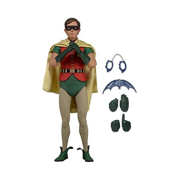 バットマン ロビン アクション フィギュア 人形 ネカ NECA Batman 1966 - Robin (Burt Ward) Action Figure (1/4 Scale)