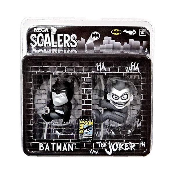 バットマン スケーラーズ コード フィギュア 人形 ネカ SDCC 2014 NECA Exclusive Scalers - Batman & The Joker