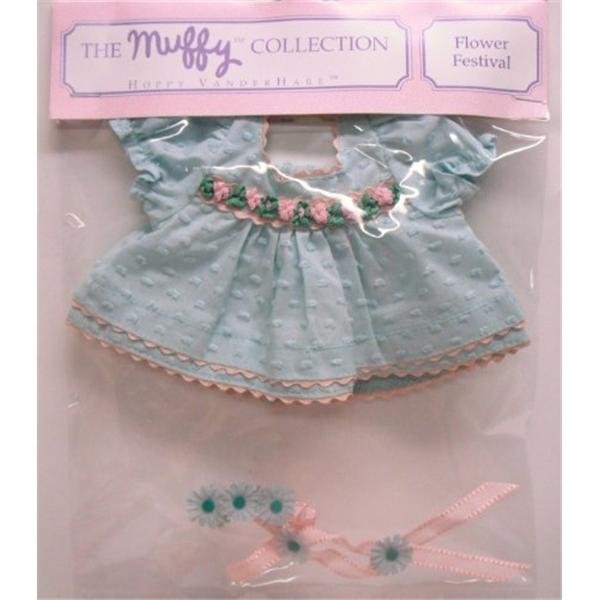 ノースアメリカンベア Hoppy Vanderhare Flower Festival Outfit (Muffy Vanderbear) ぬいぐるみ ベビー トイ