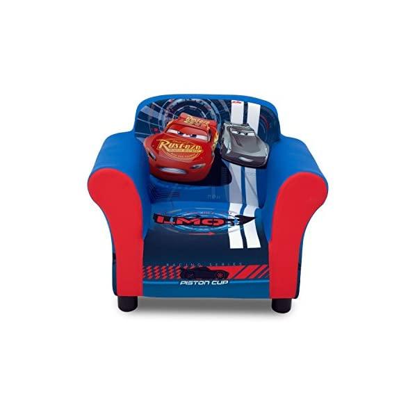 カーズ ディズニー ピクサー キッズチェア ソファ ローチェア 子供椅子 キッズソファ 入学祝 入園祝 卒園祝 お誕生日 プレゼント 自宅学習 Delta Children Upholstered Chair, Disney/Pixar Cars
