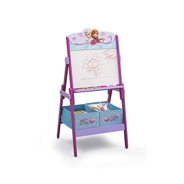 アナと雪の女王 ディズニー お絵かき ホワイトボード デッサン おもちゃ箱 お片付け スリム ラック 収納 キッズ ボックス 子供 部屋 入学祝 入園祝 卒園祝 お誕生日 プレゼント Disney Frozen Activity Easel with Dry Erase Board and Magnetic Letters
