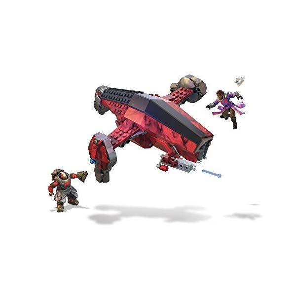 デスティニー メガブロック おもちゃ フィギュア メガコンストラックス Mega Construx Destiny Cabal Attack Jumpship Building Set