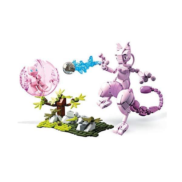 ポケモン ブロック おもちゃ メガブロック ミュウ ミュウツー メガコンストラックス Mega Construx Pokemon Mew Vs. Mewtwo Clash