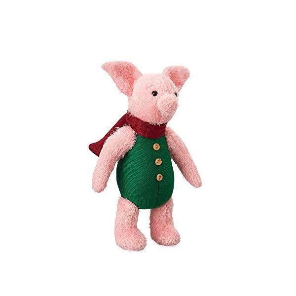 ディズニー プーと大人になった僕 ピグレット ぬいぐるみ 13インチ Disney Piglet Plush - Christopher Robin - Medium - 13 Inch