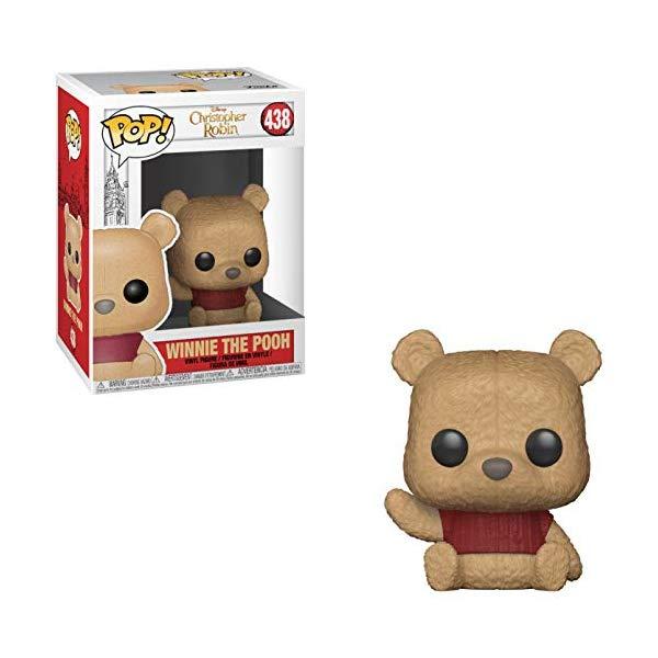 ディズニー プーと大人になった僕 くまのプーさん フンコ ポップ Funko Winnie The Pooh: Winnie The Pooh x POP! Disney Vinyl Figure + 1 Classic Disney Trading Card Bundle [#438 / 32090]