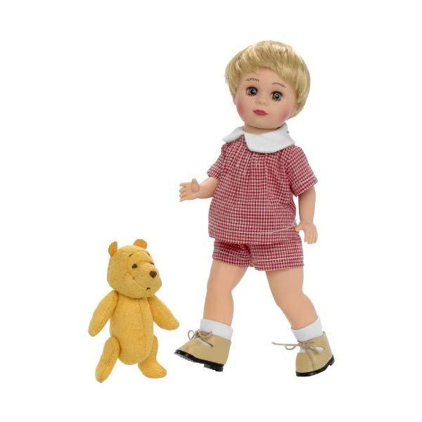 ディズニー プーと大人になった僕 クリストファー・ロビン 人形 ぬいぐるみ セット Madame Alexander Christopher Robin Doll and Classic Winnie The Pooh by Madame Alexander