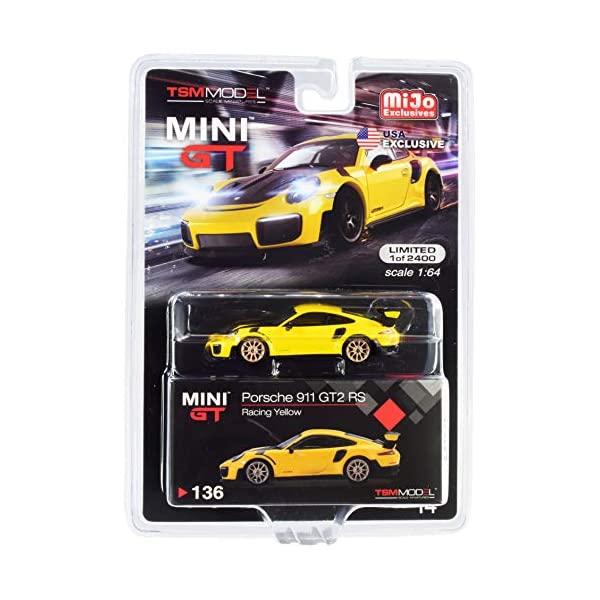ポルシェ 911 GT2 モデルカー ダイキャスト 模型 ミニカー グッズ 納車祝い プレゼント インテリア スーパーカー GT2RS Porsche RS Racing 割り引き Gold Model Pieces 2400 気質アップ Car Wheels with Edition 1 MGT00136 64 to Yellow Diecast Worldwide Limited