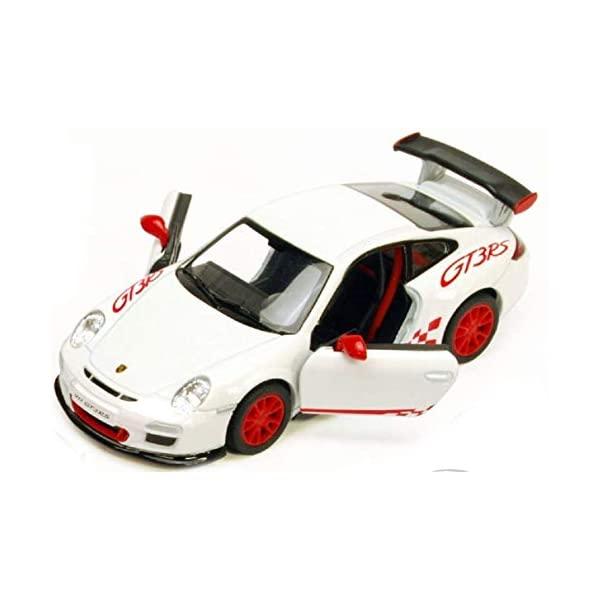 ポルシェ 2020 新作 911 GT3 モデルカー ダイキャスト 模型 ミニカー グッズ 納車祝い 保証 プレゼント インテリア Scale Toysmith Cast - 1:36 スーパーカー White Porsche by RS Die
