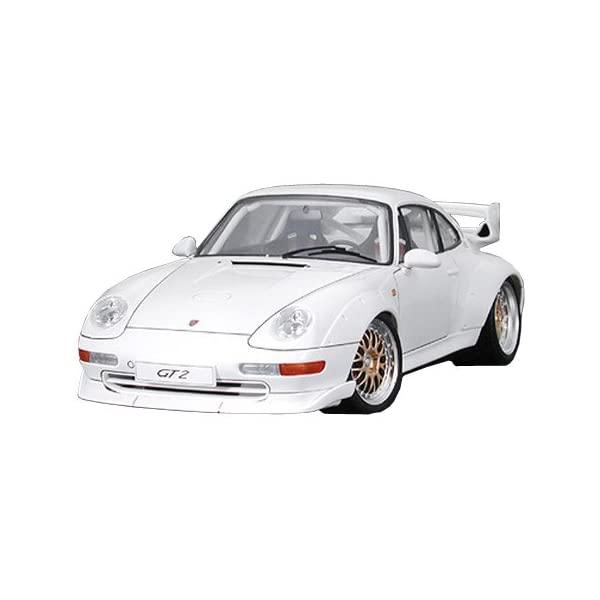 ポルシェ GT2 タミヤ モデルカー ダイキャスト 模型 割引も実施中 ミニカー グッズ 納車祝い プレゼント インテリア Model スーパーカー 1:24 Scale Tamiya 24247 White Car Porsche 日本産 at