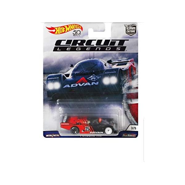 ポルシェ 962 NEW ホットウィール モデルカー ダイキャスト 模型 ミニカー グッズ 納車祝い プレゼント 送料無料 新品 Culture インテリア スーパーカー Vehicle Hot CAR Porsche Wheels Circuit Legends