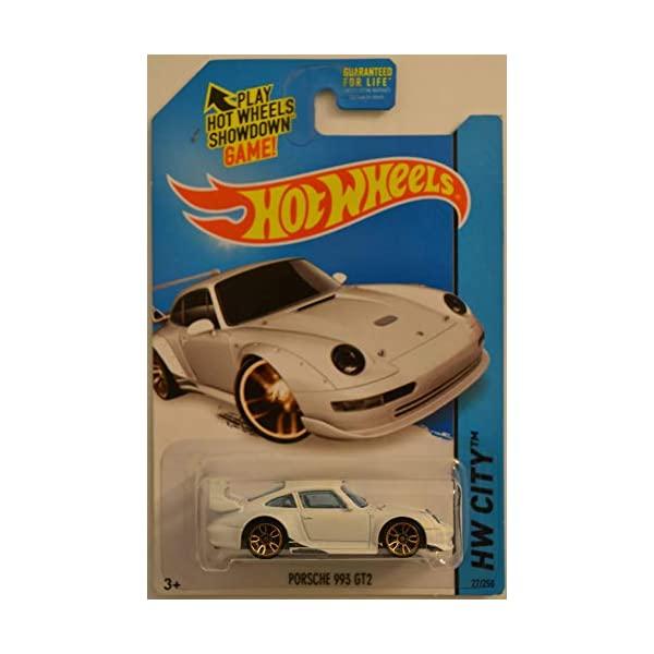 ポルシェ 911 993 GT2 ホットウィール モデルカー ブランド品 ダイキャスト 模型 ミニカー グッズ 納車祝い プレゼント インテリア スーパーカー Hot Die 直送商品 27 Cast City Collectible White 250 Car Series Wheels Porsche Model 1:64 Scale HW