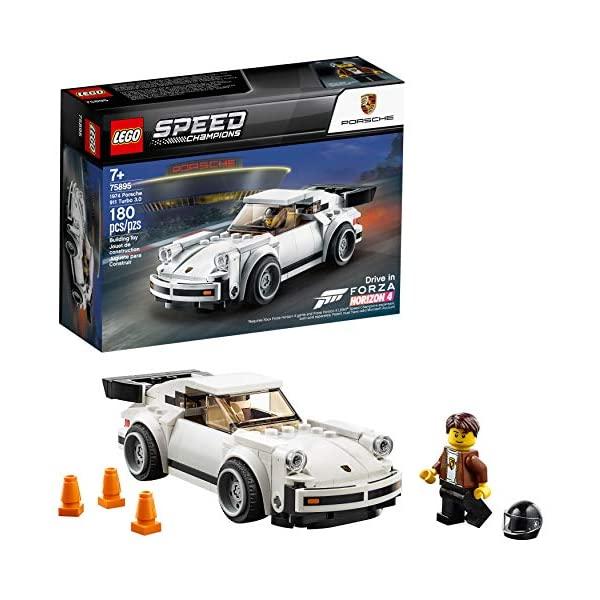 ポルシェ 911 モデルカー ダイキャスト 模型 輸入 ミニカー グッズ 納車祝い プレゼント ◇限定Special Price インテリア スーパーカー LEGO Champions Porsche Kit Speed 3.0 Building 180 1974 75895 Turbo Pieces