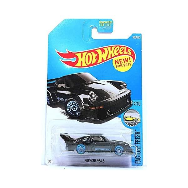 ポルシェ 934.5 ホットウィール モデルカー ダイキャスト 模型 ミニカー グッズ 納車祝い プレゼント インテリア スーパーカー 365 新作製品 通信販売 世界最高品質人気 Factory 320 2017 Fresh Black Porsche Wheels Hot