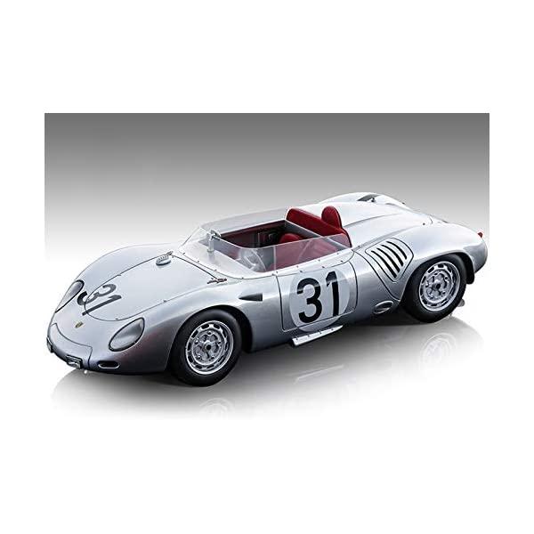 ポルシェ 959 モデルカー ダイキャスト 模型 ミニカー グッズ 納車祝い プレゼント インテリア スーパーカー Porsche 718 RSK #31 Jo Bonnier - Wolfgang von Trips Car Model Ed A Mans 1959 110 24 by