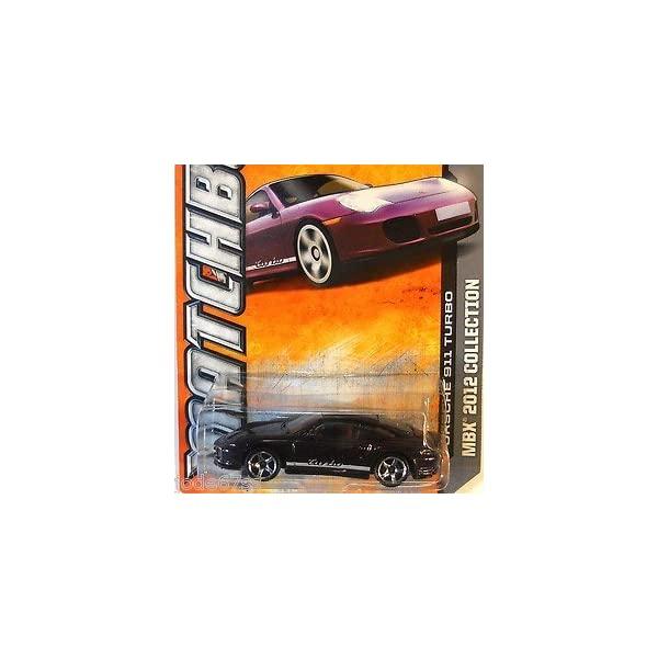 ポルシェ 911 モデルカー ダイキャスト 模型 ミニカー グッズ 推奨 納車祝い プレゼント 出群 インテリア 106 スーパーカー Turbo 120 Purple of Porsche Matchbox -
