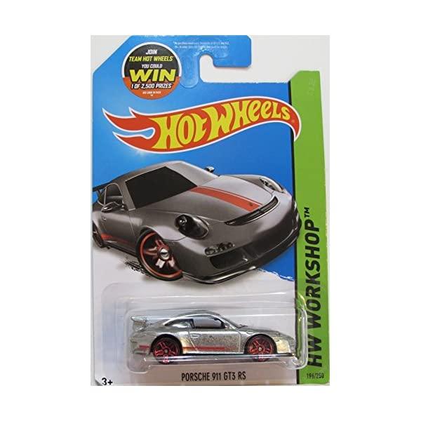 ポルシェ 911 GT3 モデルカー ダイキャスト 模型 ミニカー グッズ 納車祝い 大放出セール プレゼント インテリア スーパーカー HW 250 RS ZAMAC Hot 交換無料 196 Workshop 2015 Exclusive Wheels Porsche