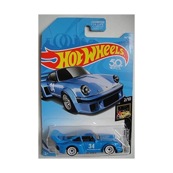 ポルシェ ホットウィール モデルカー ダイキャスト 模型 ミニカー グッズ 納車祝い プレゼント 40%OFFの激安セール インテリア スーパーカー Nightburnerz ギフ_包装 934.5 Hot Blue 365 Wheels 2018 50th Porsche Anniversary 64