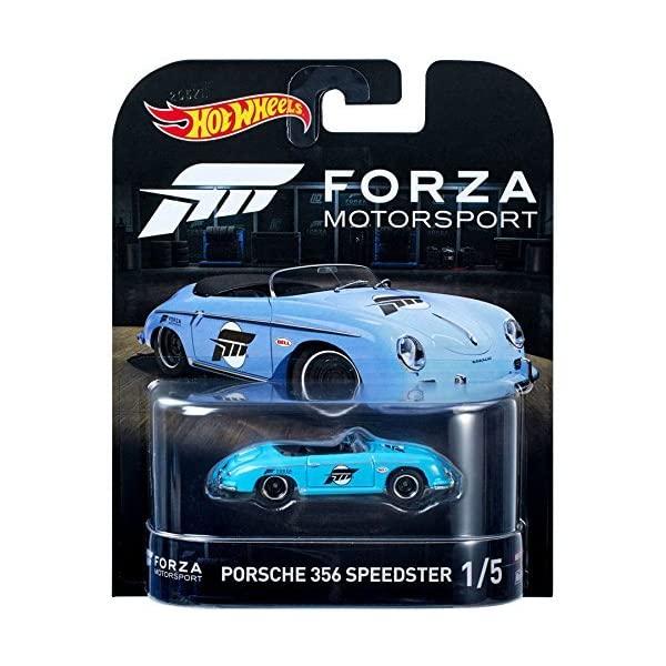 ポルシェ 356 ホットウィール モデルカー ダイキャスト 模型 ミニカー 高品質 グッズ 納車祝い 爆売りセール開催中 プレゼント インテリア 1 Porsche スーパーカー Wheels Motorsport 1:64 Forza Speedster Hot 5