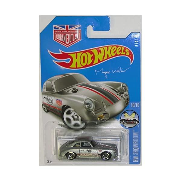 オンラインショップ ポルシェ 356A ホットウィール モデルカー ダイキャスト 模型 ミニカー グッズ 納車祝い プレゼント インテリア スーパーカー Porsche Wheels 120 2016 Showroom 250 Silver Magnus Hot HW 開催中 Walker Outlaw