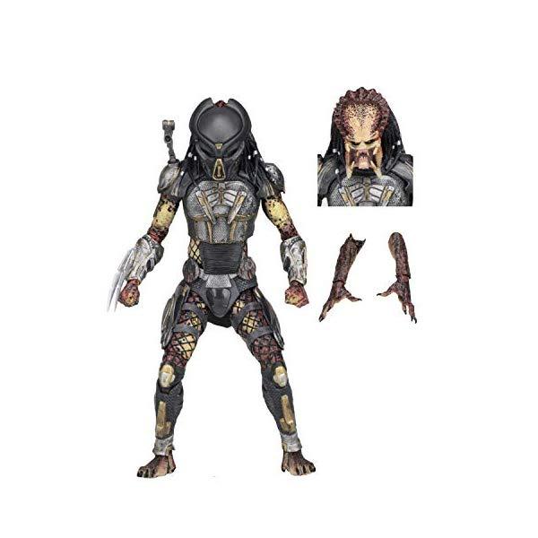 """プレデター アクション フィギュア 人形 ネカ 7インチ NECA 2018 7"""" Scale Action Figure - Ultimate Fugitive Predator"""