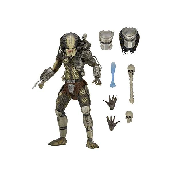 プレデター アクション フィギュア 人形 ネカ 7インチ NECA Predator Scale Ultimate Jungle Hunter Action Figure, 7