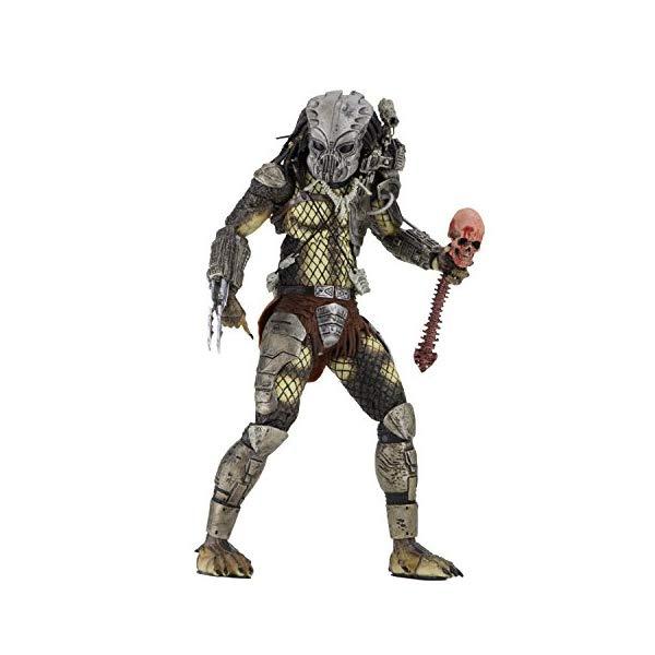プレデター アクション フィギュア 人形 マスク ネカ 30周年記念 7インチ NECA Predator - 7