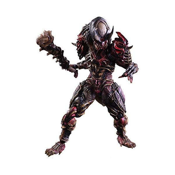 プレデター アクション フィギュア 人形 Square Enix Predator Variant Play Arts Kai Action Figure