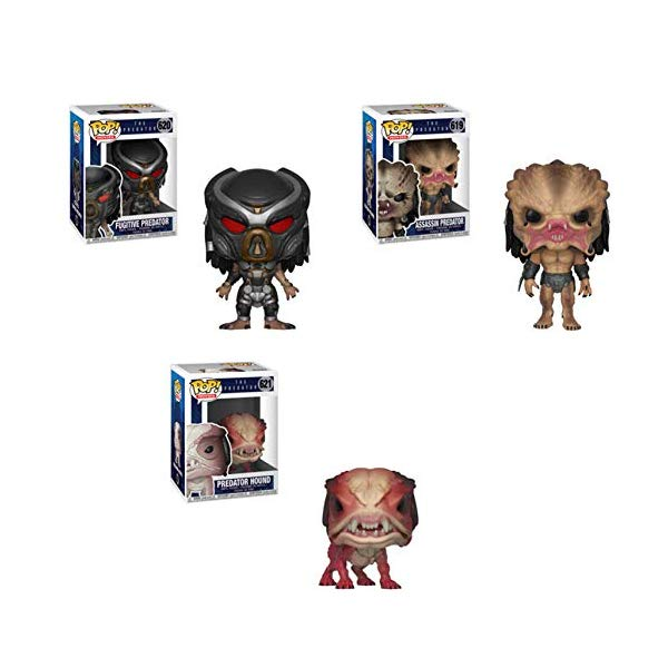 プレデター ファンコ ポップ 3体セット Funko Pop! Bundle of 3: Predator: Fugitive Predator, Assassin Predator and Predator Hound